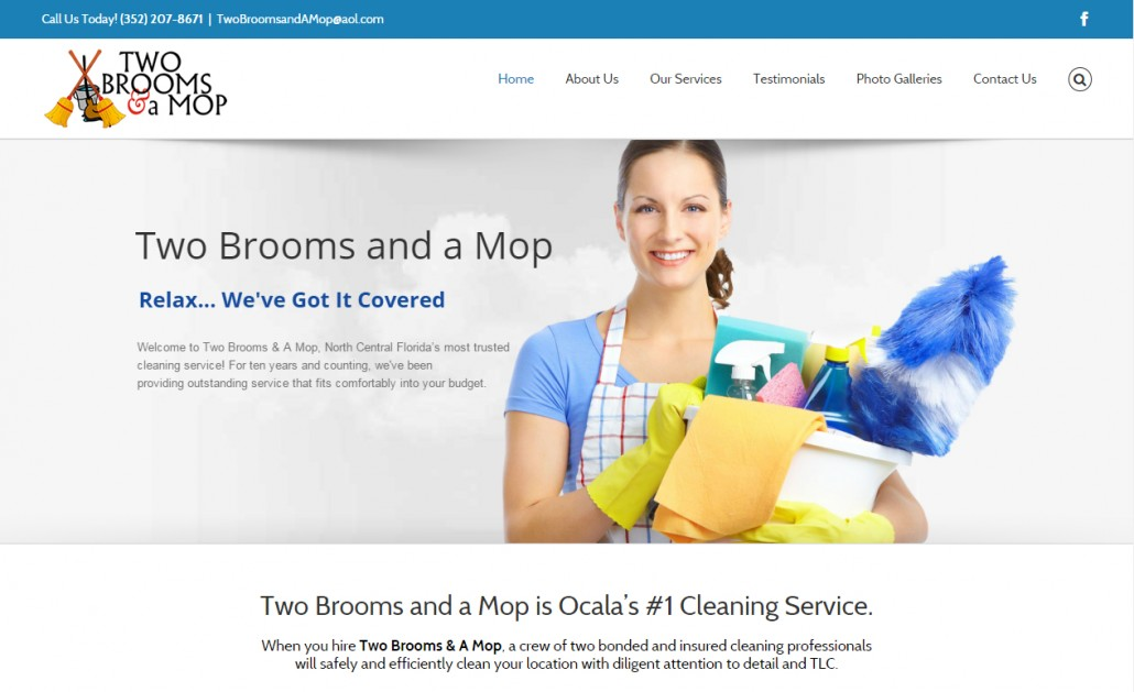 Kdm launches new site for ocala cleaning service web for Architect services online