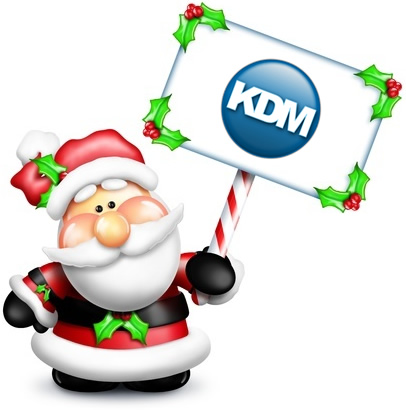 Santa's giving away Free Web Design